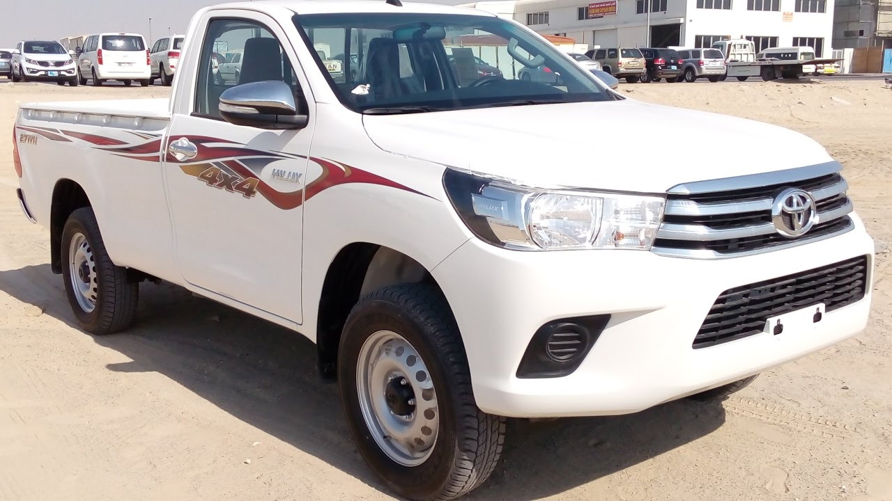 2017 toyota hilux single cabin 4x4 petrol in dubai - youtube