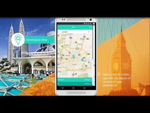 AppsMappper - Discover Travel Apps