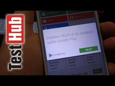 Zakupy w Sklepie Google Play bez Karty Kredytowej - doładowanie zdrapką