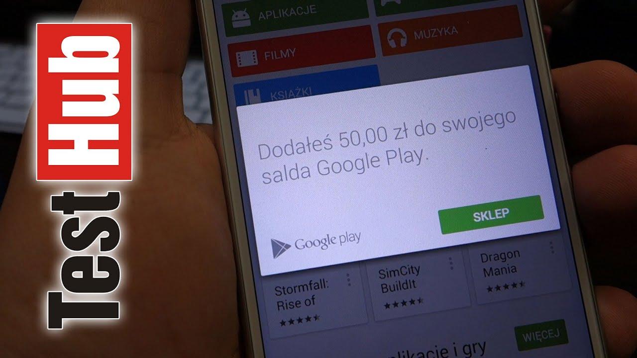 Zakupy W Sklepie Google Play Bez Karty Kredytowej Doladowanie