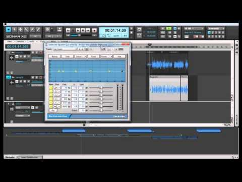 How to mix Rap vocals (some basic tips) Sonar X2