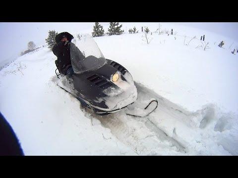 Снегоход Буран в