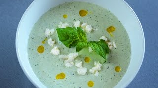 Cold Cucumber Soup With Feta Recipe