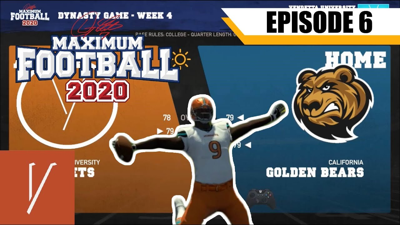 Download A Series of Unfortunate Events: Maximum Football 20 College Dynasty Ep. 6