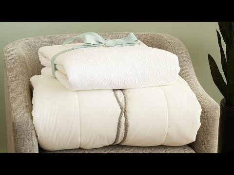 How To Fold A Comforter - Martha Stewart
