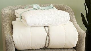 How to Fold a Comforter - Martha Stewart