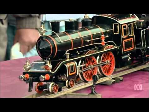 Steam Loco model Antique Roadshow