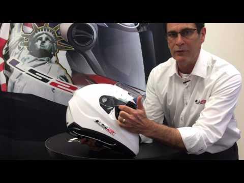 How to - LS2 Helmets Stream Motorcycle Helmet Shield Change