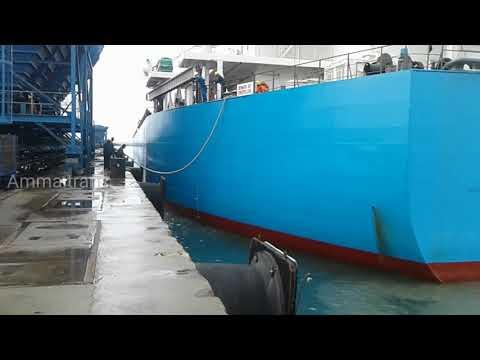 Thoothukudi harbour ship parking video தூத்துக்குடி துறைமுகம் கப்பல் நிறுத்தம் வீடியோ