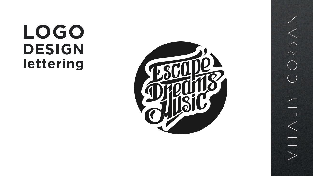 Logo Lettering Design Speed Art
