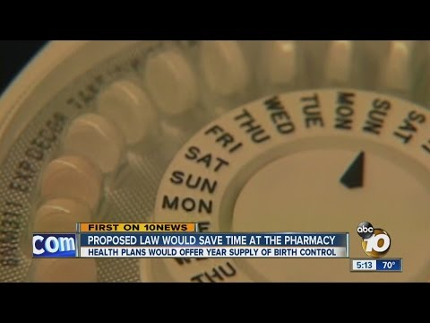 Proposed law would save women time at the pharmacy