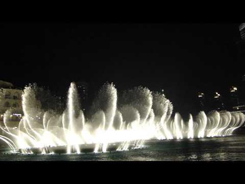 فواره دبی - انت عمري از ام كلثوم || The Dubai Fountain - Enta Omri - HD