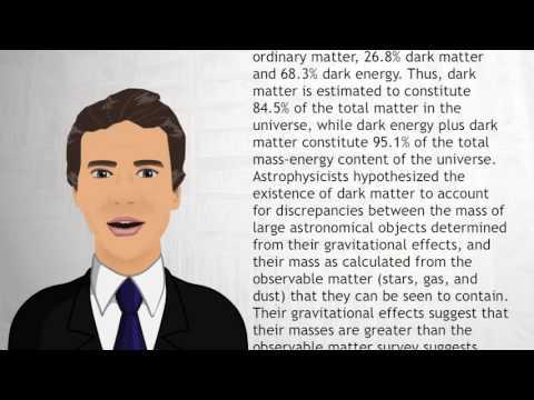 Dark matter - Wiki Videos