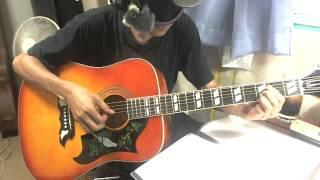 ずいぶん前に作った歌です。 D→Am7の旋律が好きです。