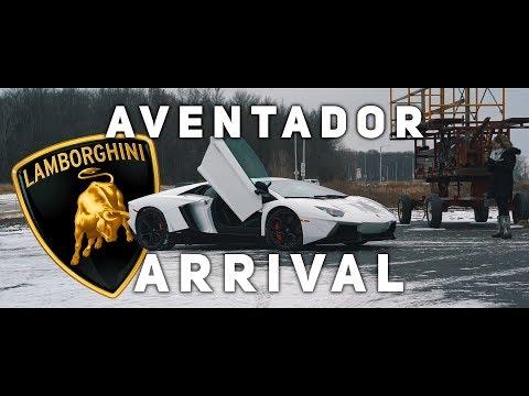 CHRISTMAS ARRIVAL || Lamborghini Aventador