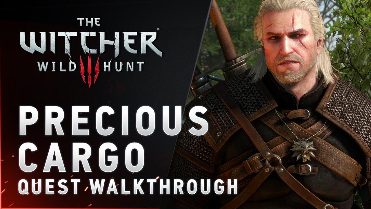 "Download The Witcher 3: Wild Hunt - ""Precious Cargo"" quest walkthrough"