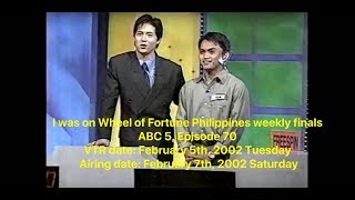 my wheel of fortune philippines weekly finals experience best and uncompressed video