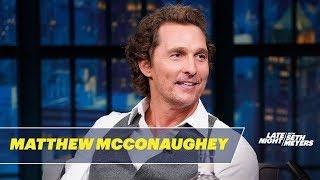 Matthew McConaughey's Dad Resuscitated a Drowned Cockatiel