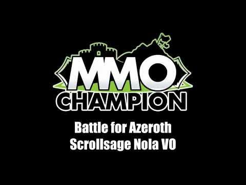 Patch 8.1.5 - Scrollsage Nola VO