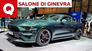 Ford Mustang Bullitt: la macchina del tempo V8 al Salone di Ginevra 2018 | Quattroruote