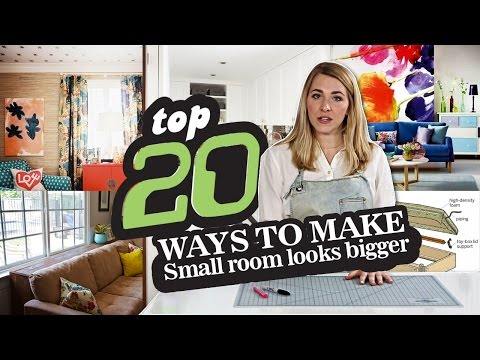 20 Ways How to Make Small Room look Bigger