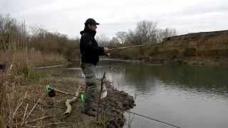 Рыбалка в Дагестане - Ловля в проводку на поплавочную снасть.