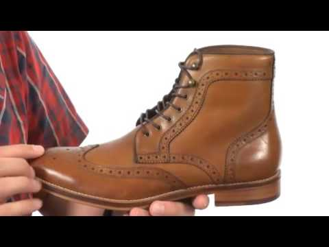 johnston and murphy leather boots