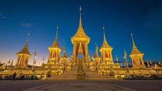 STUNNING GOLDEN MASTERPIECE, KING RAMA IX ROYAL CREMATORIUM. BANGKOK, THAILAND