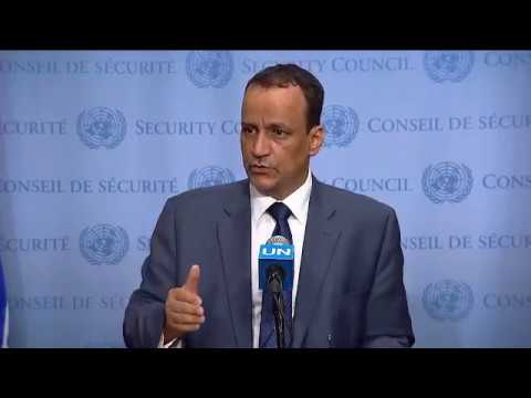 Ismail Ould Cheikh Ahmed (Special Envoy) on the situation in Yemen - Media Stakeout