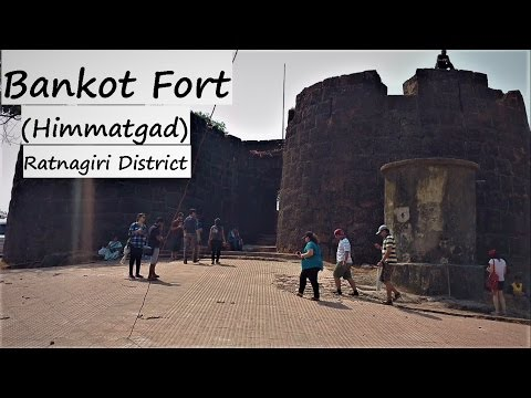 Bankot Fort (Himmatgad) near Velas (Ratnagiri district)