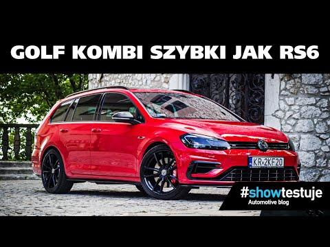Golf Kombi szybki jak RS6?! VW Golf 7,5 R Variant 2.0 TSI DSG 411 KM TEST PL [ #showtestuje ]