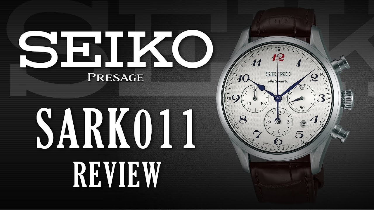 Seiko Presage SARK011 Review