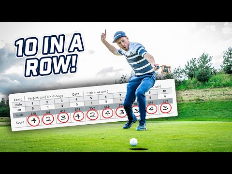 HOW I MADE 10 BIRDIES IN A ROW! (every Shot Shown)