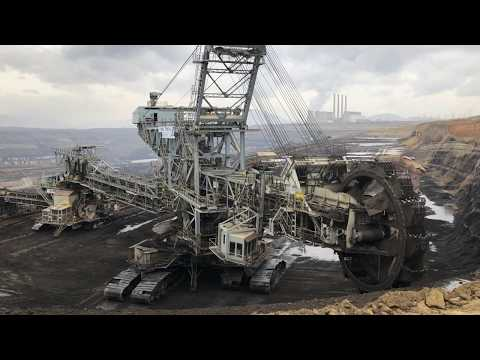 Bucket Wheel Excavator - Coal Mining Excavation