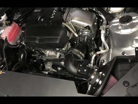 Free Cold Air Intake Mod On Cadillac ATS AWD 2.0  Turbo