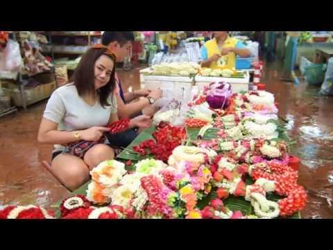 Bangkoks Flower Market   Pak Klong Talad
