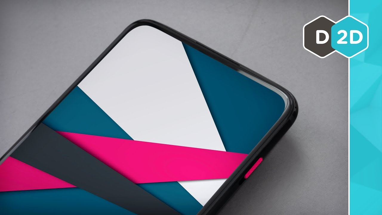 The OnePlus 7 looks SO CLEAN