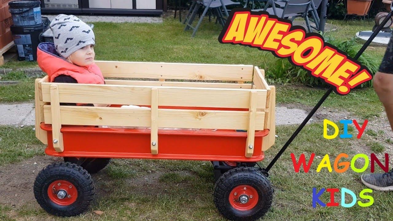 Jak zrobić wózek dla dzieci