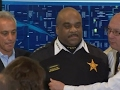 Chicago's top cop falls ill at news conference