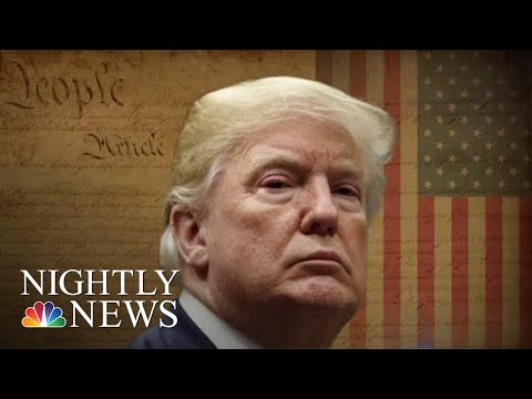 President Trump Calls For Deporting Migrants 'Immediately' And Without Trial   NBC Nightly News