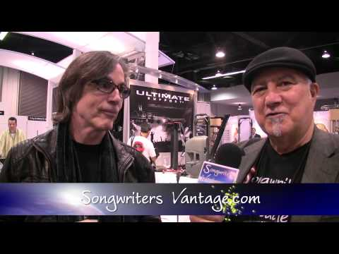 JACKSON BROWNE Interview w/ SWEETWATER's Alex Del Zoppo for Songwriters Vantage