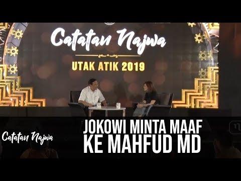 Catatan Najwa Part 1 - Utak Atik 2019: Jokowi Minta Maaf ke Mahfud MD