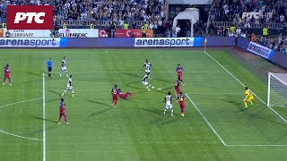 Fudbal: Partizan – Steaua 4:2, golovi