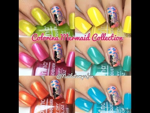 Colorina Nail Lacquer Mermaid Beauty Collection