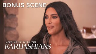 Kim Kardashian West Leaked Her Own Surrogacy News | KUWTK Bonus Scene | E!