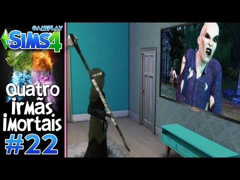 DONA MORTE NOVELEIRA #22 - Desafio das 4 IRMÃS IMORTAIS VILÃS - The Sims 4