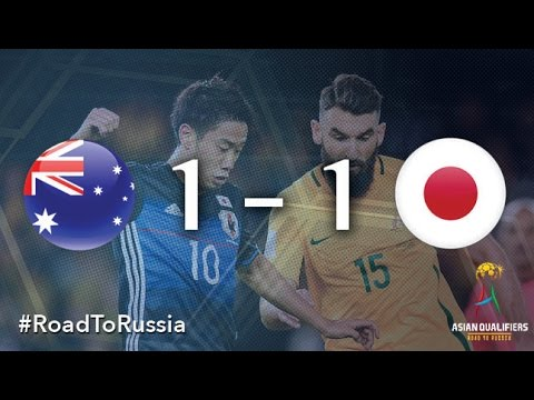 Australia vs Japan (Asian Qualifiers - Road to Russia)