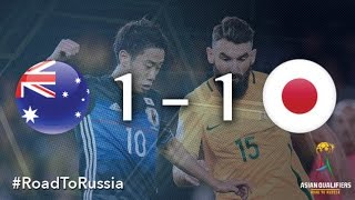 Australia vs Japan (Asian Qualifiers - Road to Russia) thumbnail