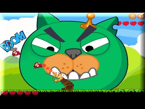 angry birds vs green pigs online game