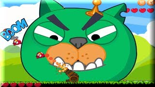 Angry Birds Cannon 1 - Angry Birds Vs Bad Piggies - Angry Birds Game